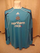 Newcastle 2009 - 2010 Home Goalkeeper Shirt by Adidas BNWT (S)