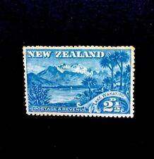 new Zealand SG 250 1898 Q.V. 21/2d Blue WAKATIPU Mounted Mint
