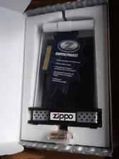 COPPER Z SERIES ZIPPO LIGHTER PROTOTYPE PROJECT DISPLAY CASE  # 2749