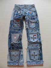 Levi's Designer Jeans Hose W 30 /L 32, Schwer ! MEGA Vintage Patchwork, Unikat !