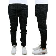 Mens Twill Active Jogger Pants w/ Tapered Ankles Extra Stretch Comfort NEW NWT