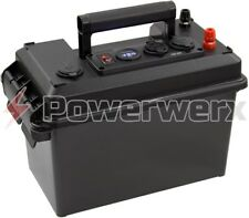 Powerwerx PWRbox-PP Portable PowerBox for 12-20Ah Bioenno Batteries