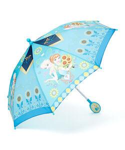 Frozen Movie Elsa and Anna Sisters Flower Nylon Umbrella