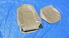 99 00 01 Saab 9-5 Aero SE V6 Wagon Tan Driver Left Side Leather Seat Covers
