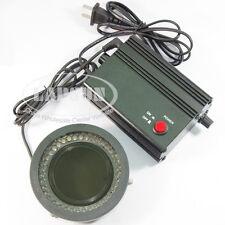 Polarisant polarisant LED Ring lumière ampoules lampe d'assistance pour 78 stéréo microscope K