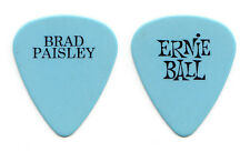 Brad Paisley Signature Light Blue/Black Guitar Pick - 2013 Beat This Summer Tour