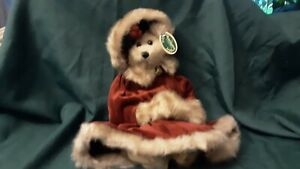 """Retired 2001 Bearington Collection Missy Mistletoe 16"""" #1168 NEW With Tags"""