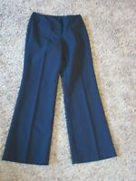 Women's New York & Company Black 100% Polyester Dress Pants - Sz. 4 Average