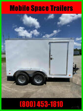 2021 Covered Wagon Trailers 7X12 Enclosed Cargo Trailer New