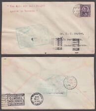 CANADA 1928 QUEBEC – TORONTO FLIGHT COVER (ID:271/D49288)