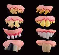 1Set Halloween Party Favor Prop Funny Goofy Fake Vampire Denture Teeth Prank Toy
