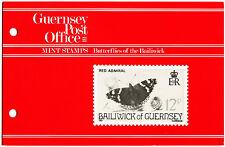 Guernsey 1981 Butterflies MNH Presentation Pack #C40473