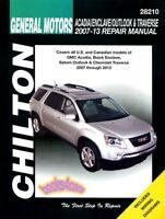 SHOP MANUAL OUTLOOK SATURN SERVICE REPAIR BOOK CHILTON HAYNES GUIDE