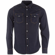 Diesel Collared Long Sleeve Casual Shirts & Tops for Men