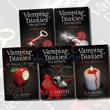 Vampire Diaries Collection L J Smith 5 Books Set 1 to 7 Series, Nightfall New US