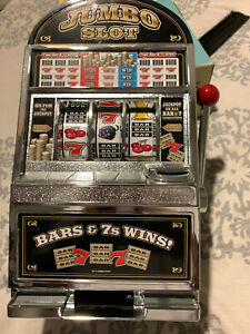 Jumbo Slot Machine Battery Operated Coin Tabletop