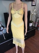 MISSONI RUNWAY Sexy Bustier Open Back Crochet Knit Dress Gown