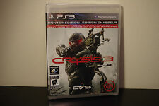 Crysis 3 Hunter Edition  (Sony Playstation 3, 2013) *New / Factory Sealed