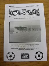28/03/2013 The Football Traveller Magazine: Volume 26 Issue 31 - Cover photo - A