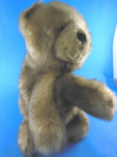 """Bearington 13"""" Teddy Bear Plush Hand Puppet fully lined excellent very nice"""