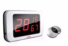 Vellux Wireless Calling System VM330A 3dp Main unit + VB400 Silver bell 20pcs