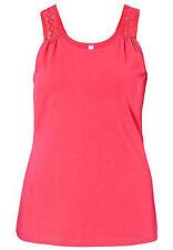 Sheego Damenblusen,-Tops & -Shirts mit Rundhals ohne Mehrstückpackung