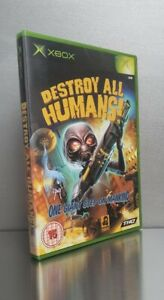 Sealed Destroy All Humans Original Xbox Game ☆Compatible 360☆One☆SeriesX Mint A+