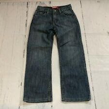 LEVI'S 514 Slim Straight Fit Blue Jeans Boy Kids Size 7x Reg Blue Denim - C156