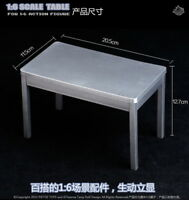 1/6 Scale Furniture Table Desk for 12 inch Action Figure Solider Toys BBI
