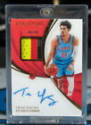 2018-19 Panini Immaculate Trae Young RC Rookie Patch Auto RPA 3 color /99