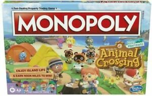 Monopoly Animal Crossing New Horizons Edition Board Game Brand New