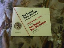 New England Rare Coin Fund I - New England Rare Coin Galleries - Apr 10-12 1980
