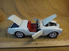 Burago 1:18 Scale 1955 Lancia Aurelia B24 Spider White - Free S&H USA