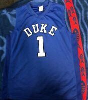Duke Blue Devils Basketball Jersey #1 Size L / Large