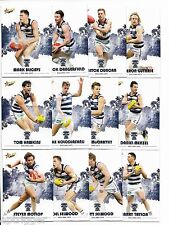 2017 Select Footy Stars GEELONG Team Set