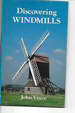 Discovering Windmills by J N T Vince 1981 edition