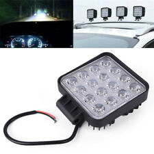 48W Square LED Work Lamp Spot Light Offroad Boat Car Motorcycle SUV