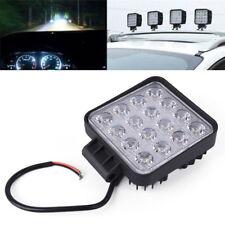 48W Square 12V 24V LED Work Lamp Spot Light Offroad Boat Car Motorcycle SUV HOT
