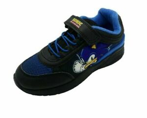 Boys Kids Sonic The Hedgehog Trainers Pump Rip Tape Close Casual Size 8-2 Junior