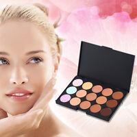 15 Color Pro Makeup Facial Concealer Camouflage Cream Palette Cosmetic
