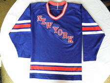 New York Rangers Lot of Two (2) Durene Dureen jersey vintage 1970s Small S 5f13abc0b