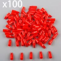 US 100Pcs Plastic Replacement Arrow Nocks ID 6mm/7mm/8mm Arrow Shaft Tail Nock