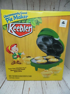 Keebler Uncommonly Good Personal Pie Maker Green NEW NIB