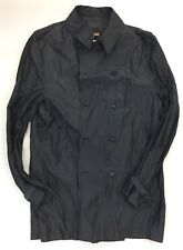 John Varvatos Trench Coat 0269H1B-TSG Men Large Made in Italy BNWT $695