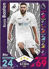 2016 / 2017 EPL Match Attax Base Card (286) Borja BASTON Swansea