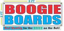 BOOGIE BOARDS Banner Sign NEW Larger Size Best Quality for The $$$