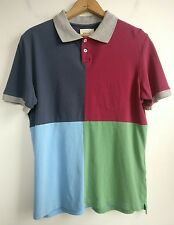 """Band of Outsiders Mens Polo Shirt """"This Is Not A Polo Shirt"""" Multicolor Size Sm"""