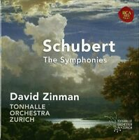 Franz Schubert The Symphonies David Zinman 5 CDs - NEW & SEALED