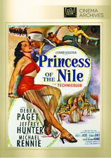 Princess of the Nile 1954 (DVD) Debra Paget, Jeffrey Hunter, Michael Rennie -New