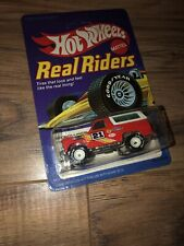 Hot Wheels Real Riders RARE Lot. Ford Bronco 4-wheeler.white hubs.👍